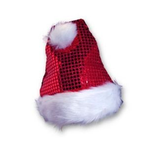 Santa Sequin Hat